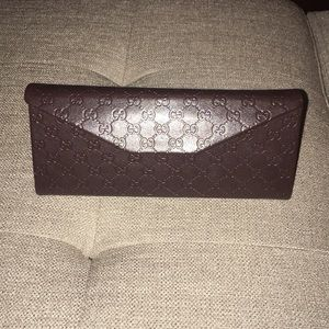 Gucci collapsible glasses case